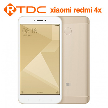 New Original Xiaomi Redmi 4X 64GB ROM 4GB RAM Snapdragon 435 Octa Core Mobile Phone