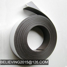 Self adhesive rubber magnetic strip magnetic tape