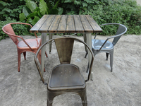 Hot sale retro metal restaurant furniture,restaurant chair made in China