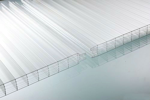 Ten-year warranty mult-wall clear polycarbonate sheet for green house high light transmission