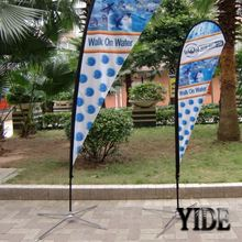 cheap price custom design diy festival banner Christmas outdoor flags