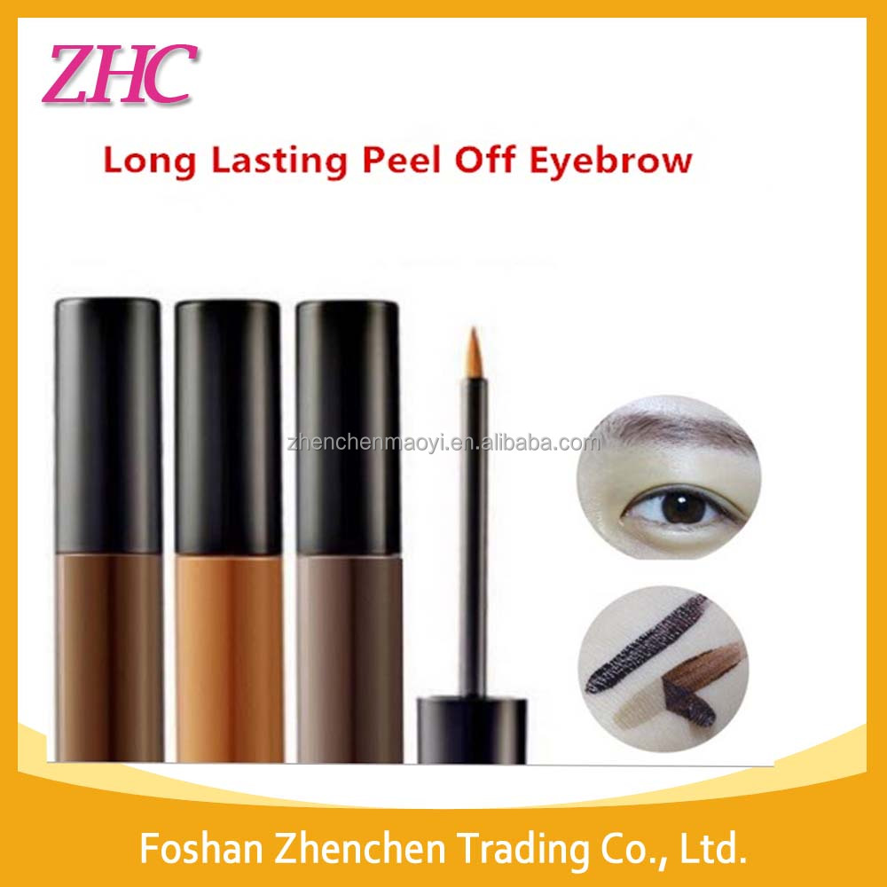 2016 Korea Hot Sale Prodcuts Long lasting Peel Off Eyebrow Tint Gel