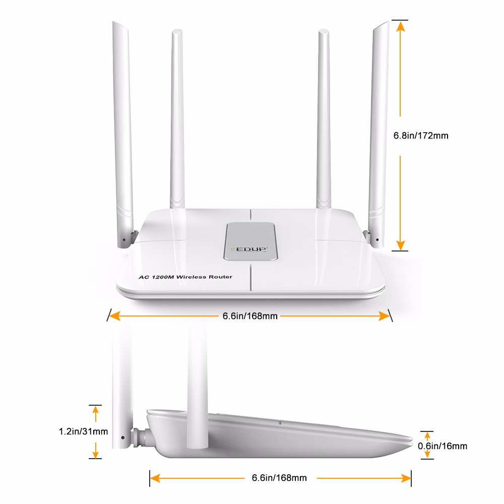 1200 IEEE802.11ac household Broadband Wireless Router Signal