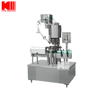 Aluminum Closures Bottle Capping Machine with 4 to 36 Heads Available