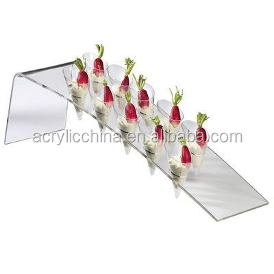 New clear acrylic round cake stand platform buy acrylic for Canape display stands