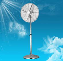 Hot Antique air cooling 16 inch chrome 4 metal blade pedestal fan