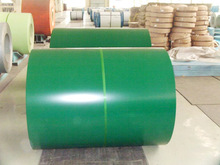 0.42mm PPGL prepainted galvalume Alumzinc color coated steel coil or sheet