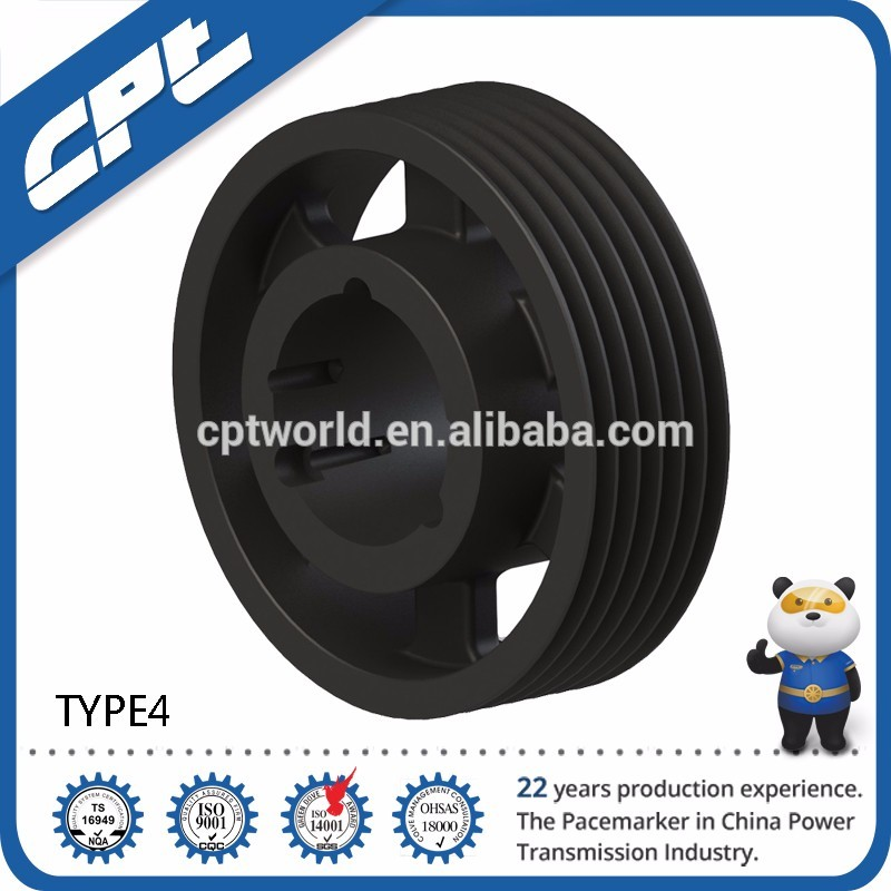 SPA custom cast iron v belt pulley,china pulley wheel