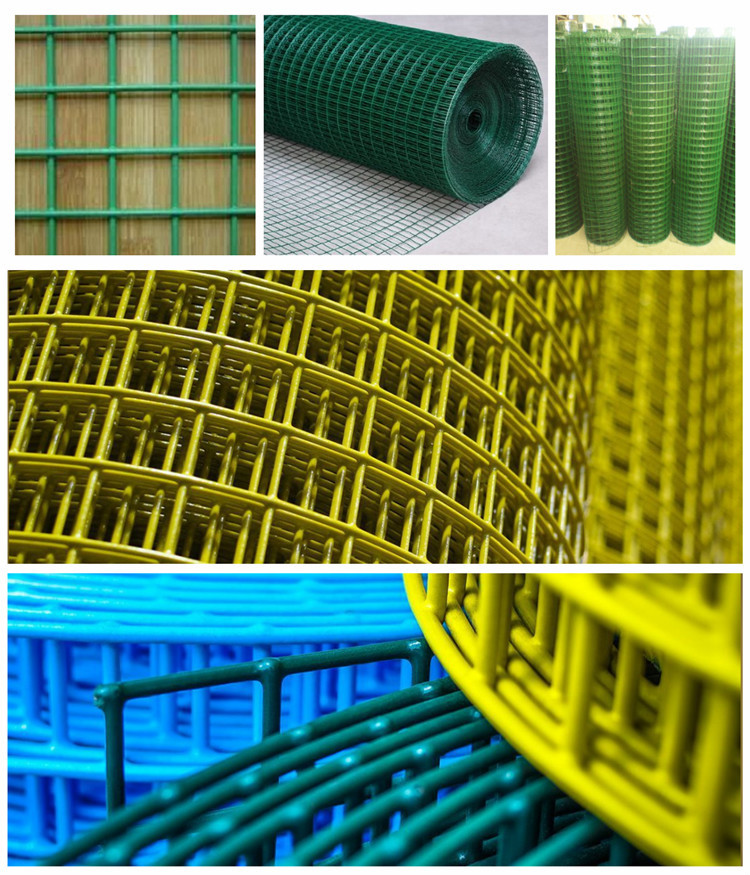 1/4 Inch Good Quality Pvc Coated Galvanized Welded Wire Mesh From ...