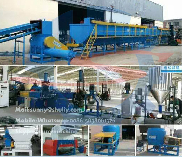 Good quality PET plastic bottle crusher machine/pet bottle washing line for sale
