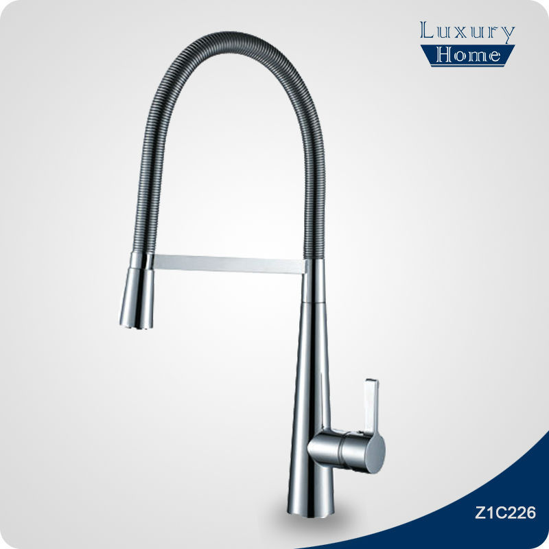 mechanical spring spray pull down kitchen faucet buy