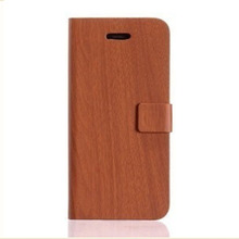 bamboo texture leather case for iphone 5c