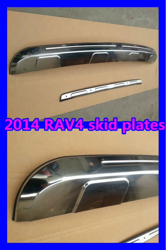 2014 RAV4 skid plate,front&rear skid plate for 2014 RAV4,2014 RAV4 auto parts