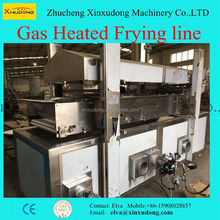 Automatic Potato Chips Pellets Snack Deep Frying Machine