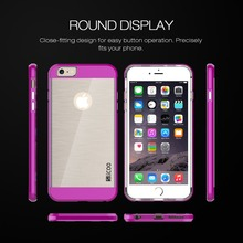 SLICOO Cell Phone Case Hybrid PC TPU Electroplating drawing Cover Case For iphone 6