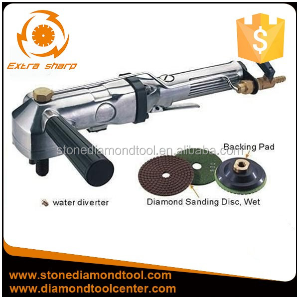 Power tools Rear Exhaust Penumatic Stone Profile Grinder