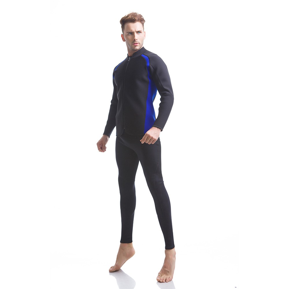 Best long sleeve and pants diving wetsuit 3mm men
