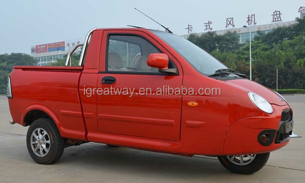 eec approved 3 wheel gasoline pickup truck