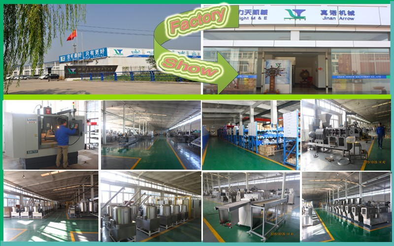 Hot sale FT75 3D pellet snack machine process line