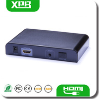 3 Years Warranty HDMI Extender Over Single Optical Fiber IR Remote Control