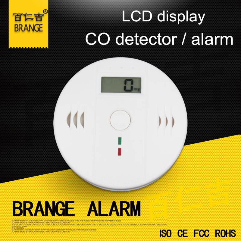 2014 hottest 3 years life DC4.5V battery powered industrial carbon monoxide detectors with CE ROHS