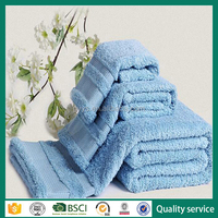 China supplier Quick dry high thread count Egyptian cotton bath towel