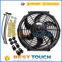 ST165/ST162 GT-4 3S-GTE MT 1986-1992 curved blade 9'' inch electric cooling fans for trucks for Toyota