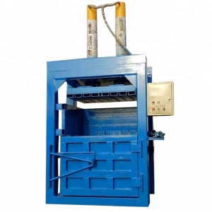 Waste carton paper ,plastic pet Bottle Baler Machine / hydraulic full automatic baler presschine/automatic baler press