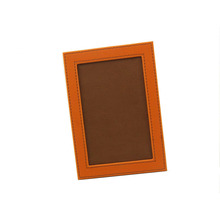 hot selling home decor standing leather photo frame