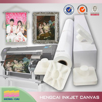 Waterproof photopaper canvas fabric