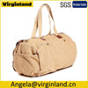 2377 Hot Selling Leisure Khaki Washed Canvas Short Trip Travel Bag for Men