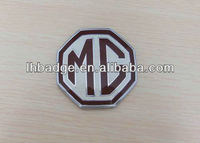 MG car emblem,custom car label,3D car label