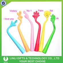 Promotional Silione Flexible Gesture Finger Pen