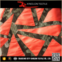 New Product Polyester Embroidery Fabric For Making Clothes