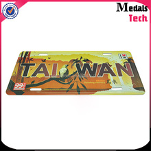 Top sale high quality beautful rectangle shape printing aluminum nameplate for decoration with cheap price custom