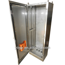 Outdoor sheet metal network metal electrical distribution cabinet enclosure