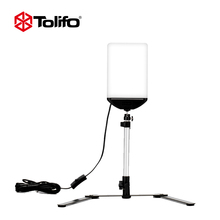 Tolifo LED Video Panel Light Photo Studio Portrait Lighting Kit With Bracket Backdrop Stand For Youtube Live