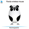 promotional gift optical wireless mouse cute panda mouse