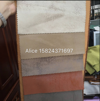 leather velvet suede material with beautiful print for sofa fabric