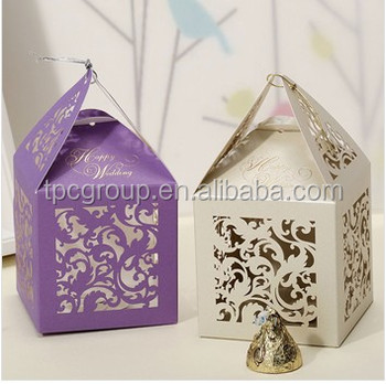 Factory Wholesale Wedding Favor Gift Box Cb2016