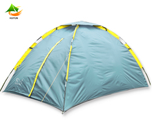 Two People Waterproof Camping Tent With Single Later With Fiberglass For Outdoor 200 x 150 x 110 cm