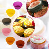 OEM Cake Tools Cheap Silicone Baking Cake Cups In Vibrant Color For Amazon