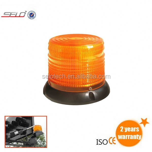 LED rotator amber strobe beacon light