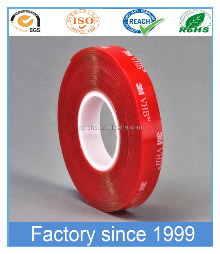 0.5mm thickniss Double Sided Foam Tape Adhesive Acrylic Tapes