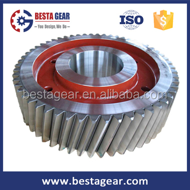 Custom concrete mixer gears