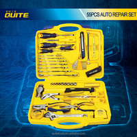 OEM Combination Tools 55 PCS Mechanical Hand Tools Mechanics Tool Boxes With Best Service