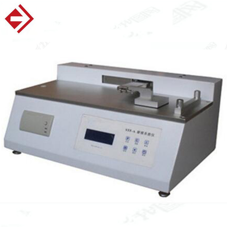 Membrane and thin film coefficient friction testing instrument