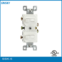 15A 120V Wall Rocker Electrical Decorate Switch