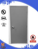 Steel door steel fireproof door 2 hours fire rating any size 2016