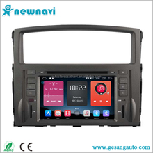 Newnavi 7 inch touch screen car stereo auto android car dvd with gps navigation for Mitsubishi Pajero 2006-2011